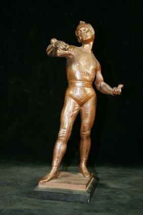 Emile La Porte, French (1858-1907) Bronze