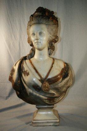 Prof. Aristide Petrilli Carrera Marble Bust
