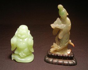 Chinese Carved Jade Figures