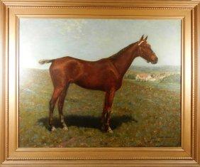 Richard Newton Jr., Oil On Canvas