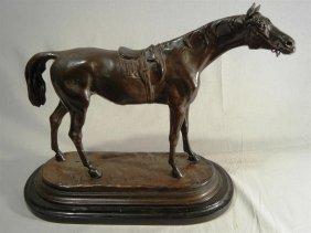 Jules Moigniez, Bronze Sculpture