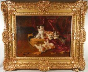 Bernard Neuville, French Oil Painting