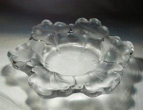 """Lalique """"Capucines"""" Bowl"""