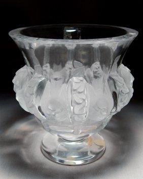"Lalique ""Dampierre"" Vase"