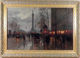 Edouard Leon Cortes, Oil On Canvas