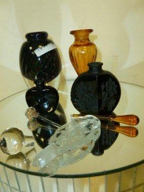 4 Perfume Bottles