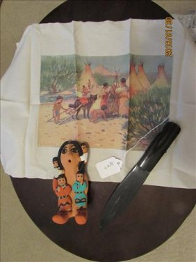 G. Bit Indian Squaw, E. W. Deming Print And Plastic