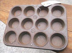 Rusty Ovenex Muffin Baking Pan