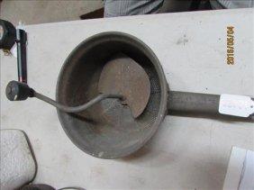 "6"" Vintage Flour Sifter"
