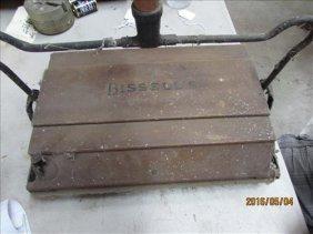 """Wood Vintage Standard Bissell's Floor Cleaner 14"""""""