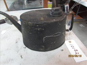 """Railroad Oiler Can 6"""" Spout To Handle"""