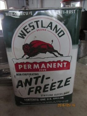Vintage Westland Brand Us Gallon Full