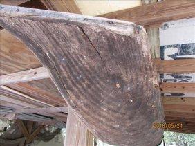 Wood Dugout Canoe
