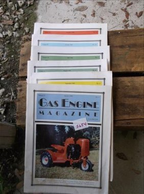 Gas Engine Magazine-6 Issues From 1995 & 1996