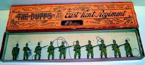 Britains RARE Set #16 The Buffs East Kent Regimen