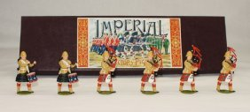 Imperial Set #25b Black Watch Pipes And Drums