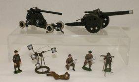 Britains Ltd. Set #1264 Naval Gun Lot