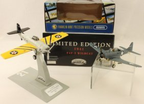 Gearbox Franklin Mint Die Cast Airplanes