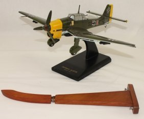 Museum Quality Model Airplane Junkers Stuka