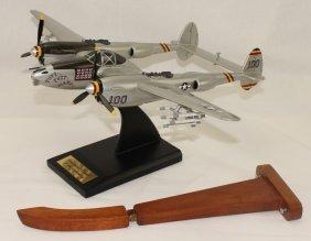 Toys & Model Corps Model Airplane P-38 Lightning