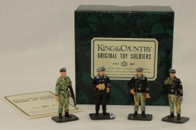 King And Country Wwii Wss4 Ss Tank Commanders