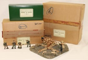 King And Country Wwii Ws20 Ss 88mm Gun And Crew