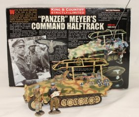King And Country Wwii Ws77sl Meyer Halftrack