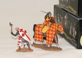 King And Country Mk046 Mk048 Medieval Knights