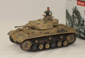King And Country Wwii Ak050 Africa Corps Panzer