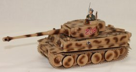 King And Country Wwii Tk01 Tiger Tank Rare
