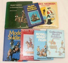 Model Soldiers, 7 Reference Books