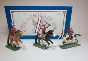 The Armies Of Jim Set #ww101 Mounted Sioux
