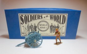 Soldiers Of The World Set #ww61/b French 75mm