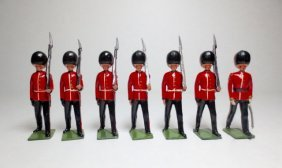 Britains From Set #9124 Coldstream Guards At Slope