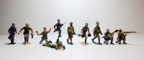 Authenticast Set Of 10 Soldiers Assortment