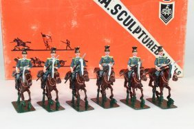 Sa Sculptured Models Prussian Ulans
