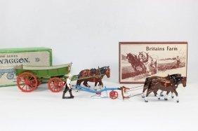 Britains Sets #6f And #5f Model Farm Series