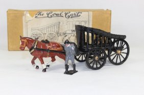 Charbens Horse Drawn Coal Cart