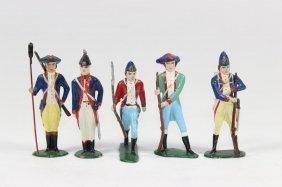 Minikin Revolutionary War Colonials