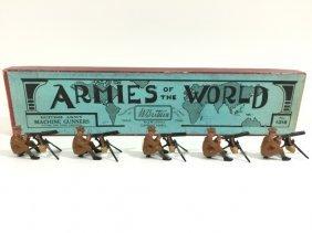 Britians Set #1318 British Machine Gunners