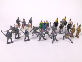 Assorted Johillco Medieval Figures