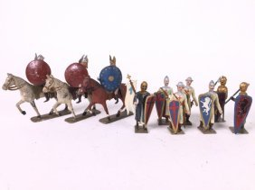 Mignot Crusaders And Gauls