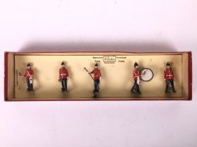 Britains Archive Set #9137 Drums & Bugles Of The Line