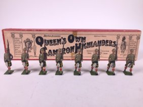 Britains Set #114 Queens Own Cameron Highlanders