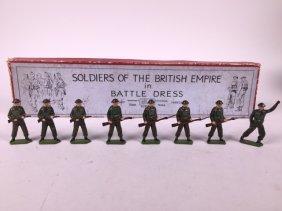 Britains Set #1898 British Infantry With Tommy Gun