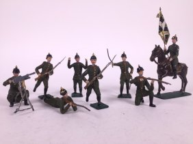 Large Scale 70mm German Infantry