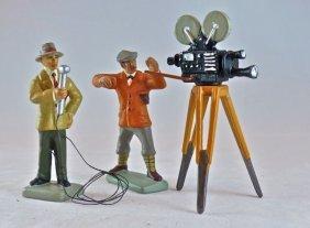 Krock German Civilian Camera Crew 2 Men