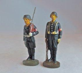 Rare Elastolin 2 Leibstandarte W/rifles