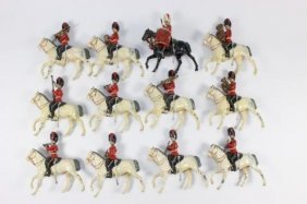 Britains #1721 Royal Scots Grey