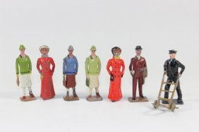 Britains From #168 Railroad Civilians